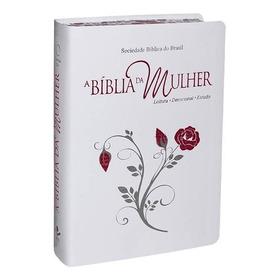 Bíblia Da Mulher Tamanho Grande Borda Florida R. A.