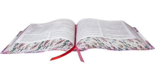 bíblia da pregadora pentecostal + caixa + capa + harpa