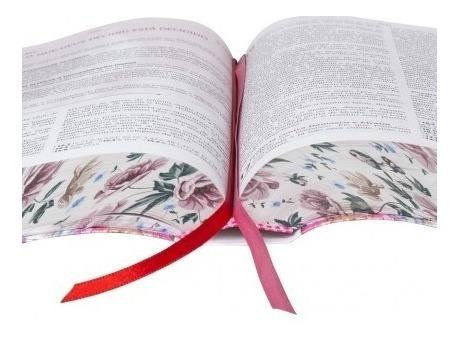 bíblia da pregadora pentecostal + caixa + capa + indice