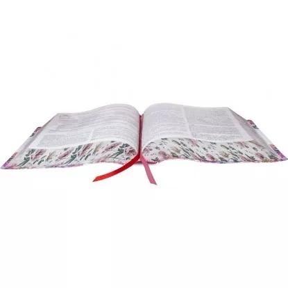 bíblia da pregadora pentecostal + capa sbb  luxo + caixa sbb