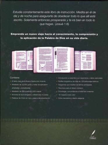 biblia de estudio diario vivir encuadernación fina