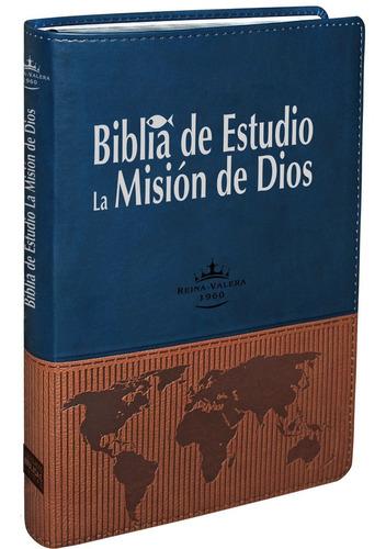 biblia de estudio la mision de dios reina valera 1960