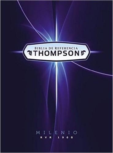 biblia de estudio thompson milenio - tapa dura