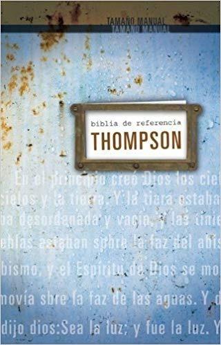 biblia de estudio thompson tamaño personal