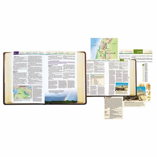 bíblia de estudo cronológica aplicação pessoal capa dura