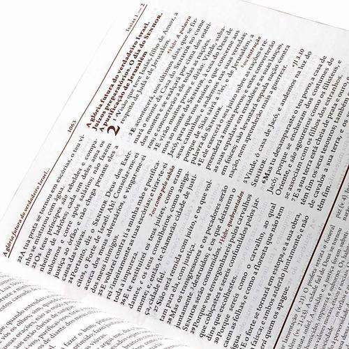 bíblia de estudo da mulher grande rc + capa transparente