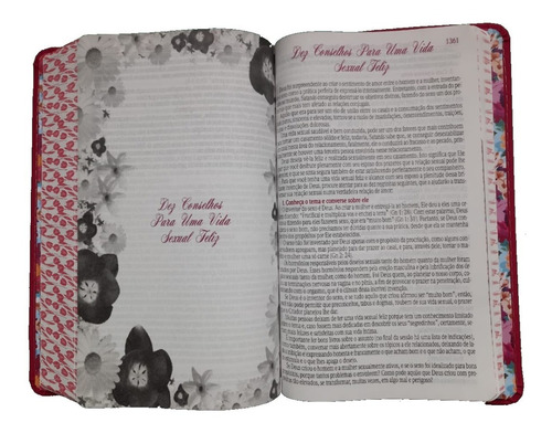 bíblia de estudo da mulher sábia letra grande harpa corinhos