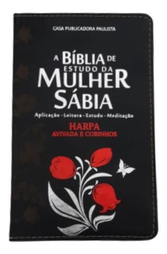 bíblia de estudo da mulher sábia luxo