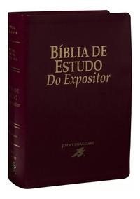 Bíblia De Estudo Do Expositor Grande Capa Luxo C/ Caixa