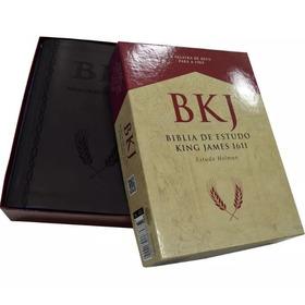Bíblia De Estudo King James 1611 Bkj - Lançamento 2018