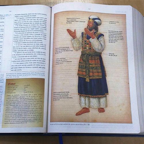 bíblia de estudo king james bkj 1611 estudos holman 2018