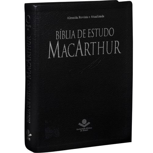 bíblia de estudo macarthur + de 20.000 notas de estudo