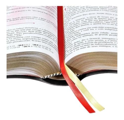 bíblia de estudo pentecostal preta
