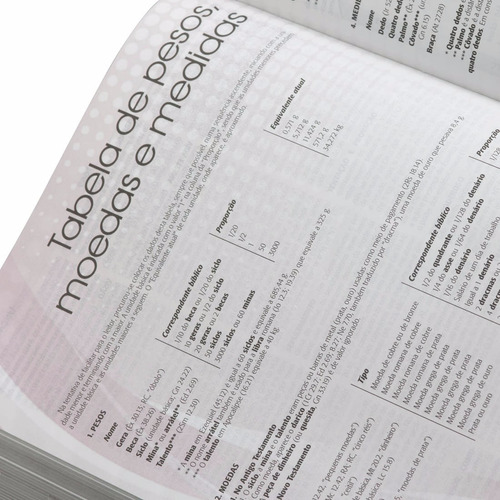 bíblia de estudo plenitude  com índice