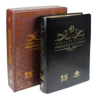 bíblia de estudo pregando com poder