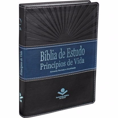 bíblia de estudo princípios de vida