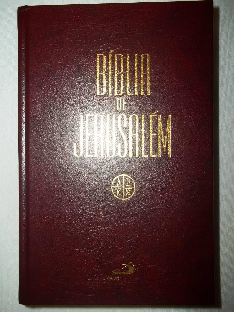 Bíblia De Jerusalém Capa Dura Média - Editora Paulus