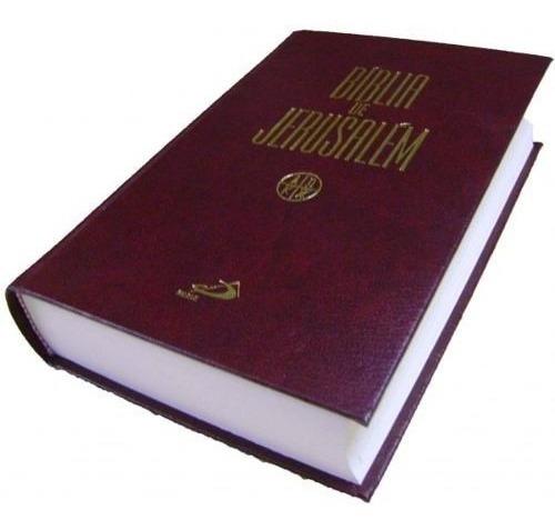 bíblia de jerusalém  -  católica - capa dura