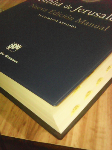 biblia de jerusalen(catolica,nueva) envio gratis