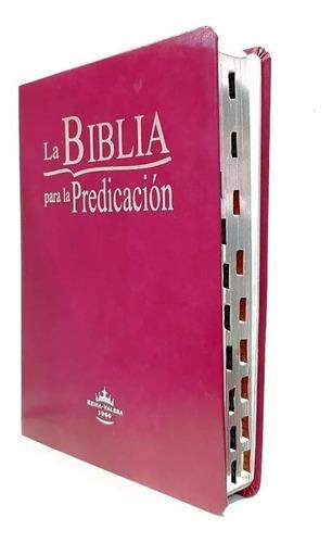 biblia de la predicación reina valera 1960 púrpura