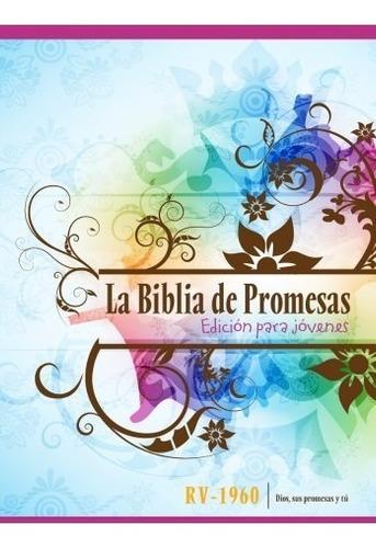 biblia de promesas edición para jóvenes rv 1960 tapa dura