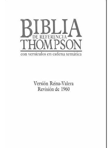 biblia de referencia thompson color.