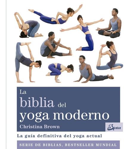 biblia del yoga moderno - brown christina
