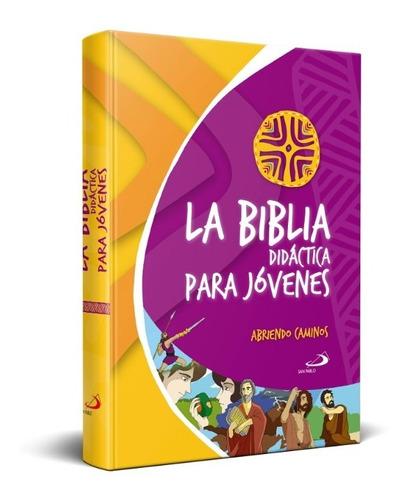 biblia didáctica para jóvenes - tapa dura