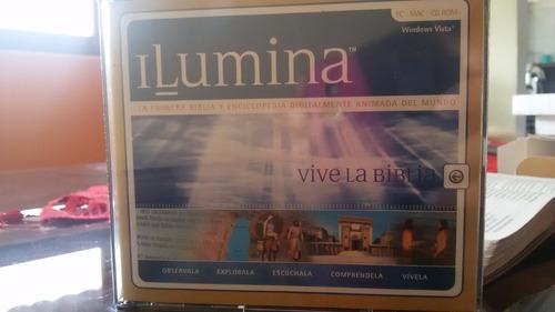 biblia digital ilumina cd-rom original en su empaque nuevo