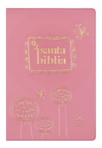 biblia económica pc color rosa reina valera 1960