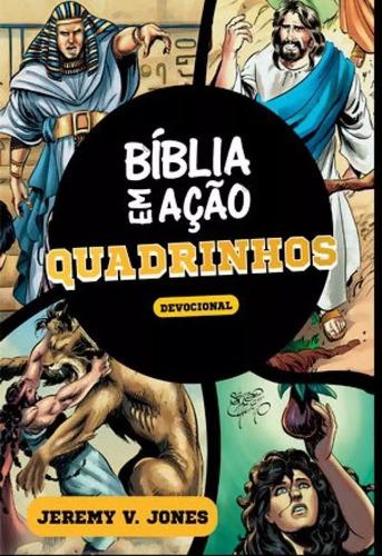 bíblia em ação devocional - quadrinhos