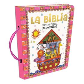 Biblia En Versito · Rosa · Tapa Dura + Manija · 11 Historias