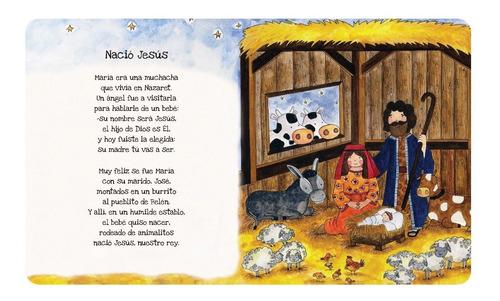 biblia en versito · azul · tapa dura + manija · 11 historias