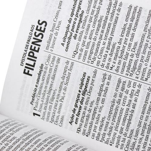 bíblia evangélica feminina / masculina letra gigante