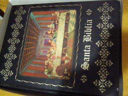 biblia familiar empastada e ilustrada a color