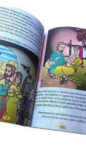 biblia ilustrada infantil para educacao crista capa dura