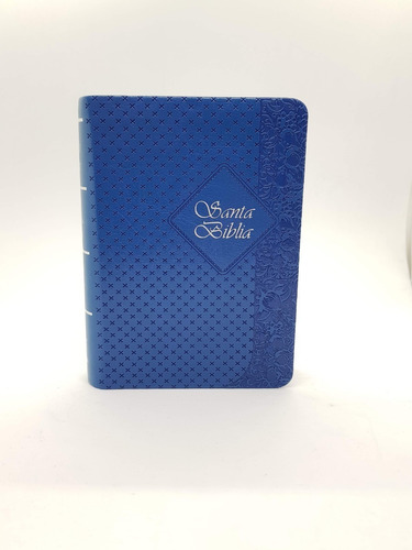 biblia índice color azul reina valera 1960 10 x 14 cm