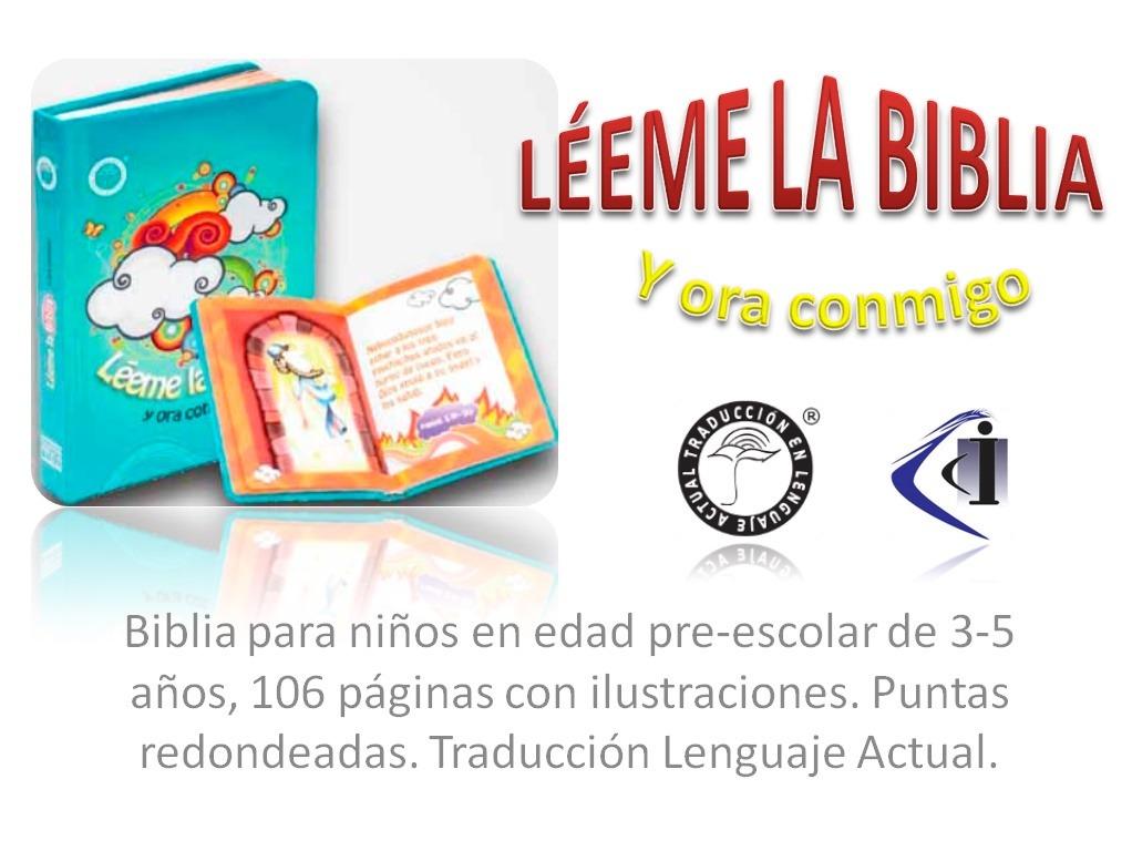 Biblia Infantil Niños Padres Lenguaje Actual Leeme La Biblia - $ 250 ...