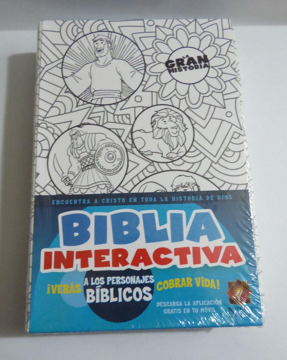 Biblia Interactiva Ntv Blanco En Tela Para Colorear - $ 86.300 en ...