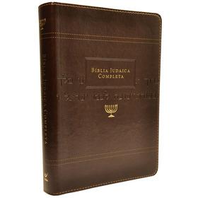 Bíblia Judaica Completa - Luxo Onetone Marrom