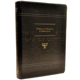 Bíblia Judaica Completa - Luxo Onetone Preto