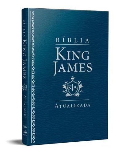 bíblia king james atualizada slim kja azul luxo