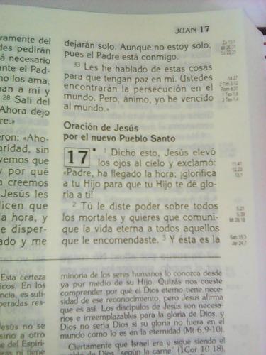 biblia latinoamerica (catolica, letra grande) envio gratis