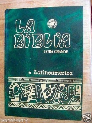 Biblia Latinoamericana -letra Grande-3 Colores-env Gratis