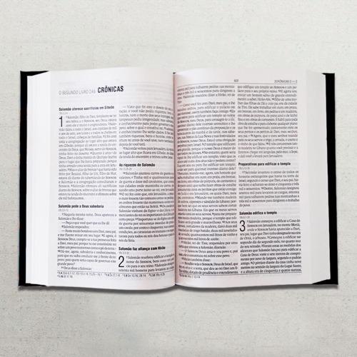 bíblia leão de judá letra grande + marca página grátis