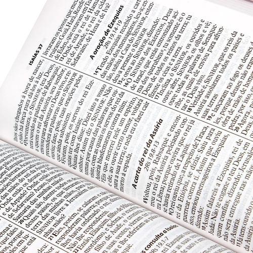 bíblia letra gigante zíper índice masculina / feminina