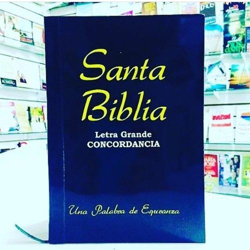 biblia letra grande en oferta