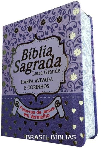 bíblia letra grande harpa corinhos feminina e masculina
