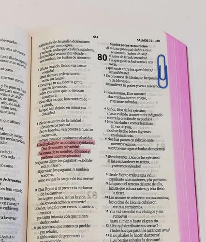biblia letra grande lila rosada reina valera contemporánea