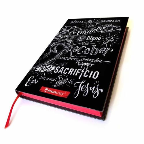 biblia lettering - jesus copy + marcador original